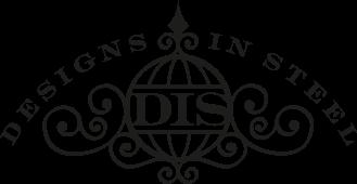 designs in steel logo